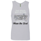 Two Wheels Move The Soul Personalized Men's Tank Top