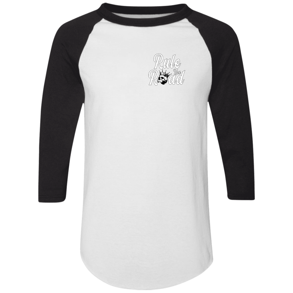 Cheat Death Mens 3/4 Sleeve Raglan Jersey