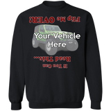Flip Me Over Personalized Crewneck Sweatshirt
