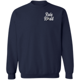 Loud Pipes Save Lives Bobber Pullover Crewneck Sweatshirt