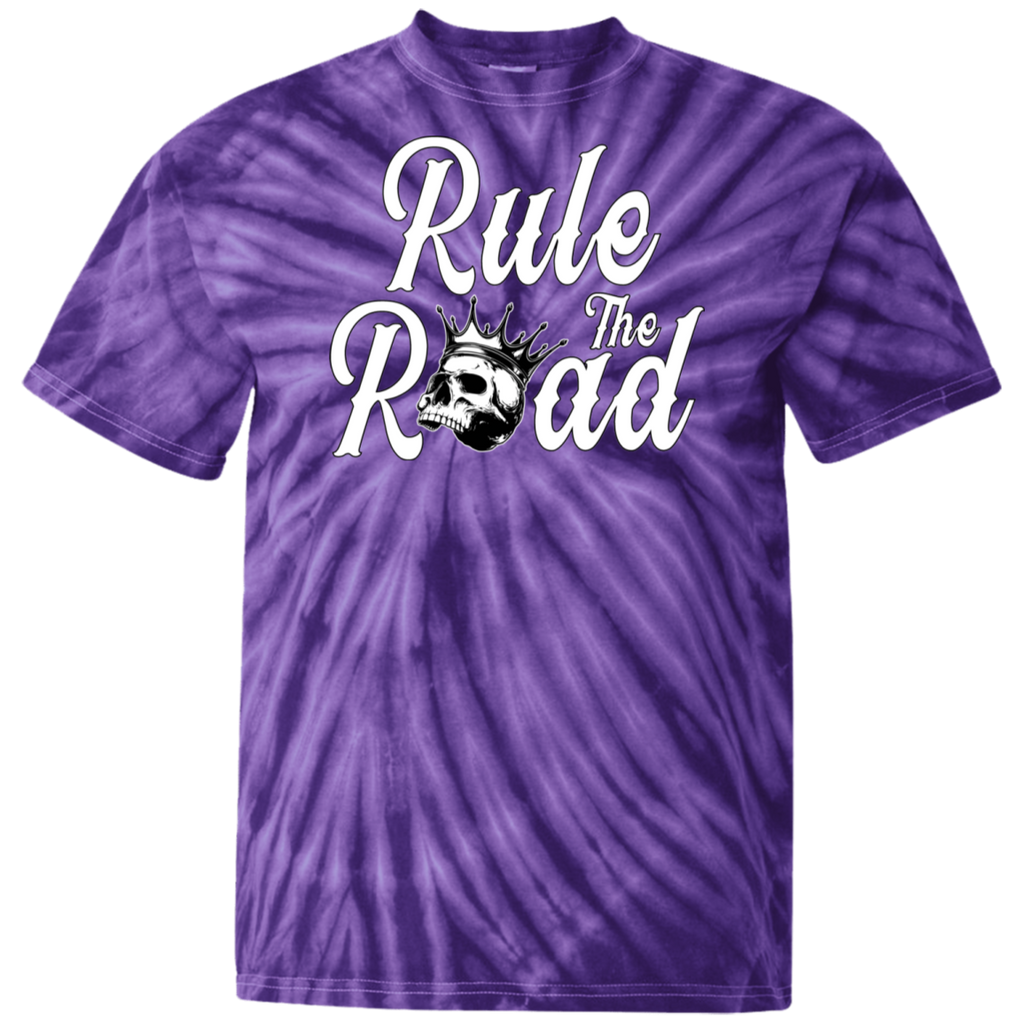 Rule The Road OG Logo Tie Dye Short Sleeve T-Shirt