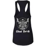 Cheat Death Ladies Ideal Racerback Tank Top