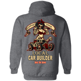 Support Your Local Car Builder Pullover Hoodie