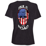 American Skull Ladies Relaxed Fit Short Sleeve T-Shirt