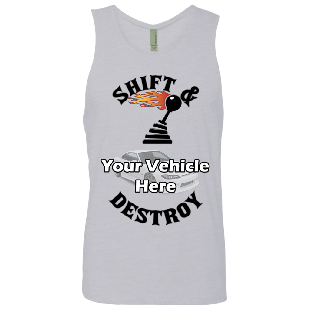 Shift And Destroy Personalized Men's Tank Top