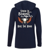 Stock Is Boring Ladies Long Sleeve T-Shirt Hoodie