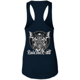 Grim Reaper Ladies Ideal Racerback Tank Top