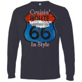 Cruisin' Route 66 Personalized Men's Long Sleeve T-Shirt