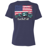 American Hot Rod Ladies Relaxed Fit Short Sleeve T-Shirt