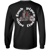 Loud Pipes Save Lives Bobber Mens Long Sleeve T-Shirt