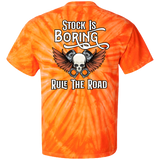 Stock Is Boring Tie Dye Short Sleeve T-Shirt