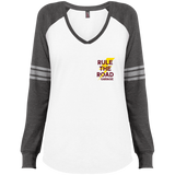 The Fixer Ladies Game Long Sleeve V-Neck T-Shirt