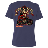 Troublemaker Motorcycle Ladies Relaxed Fit Short Sleeve T-Shirt