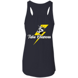 Take Chances Ladies Flowy Racerback Tank