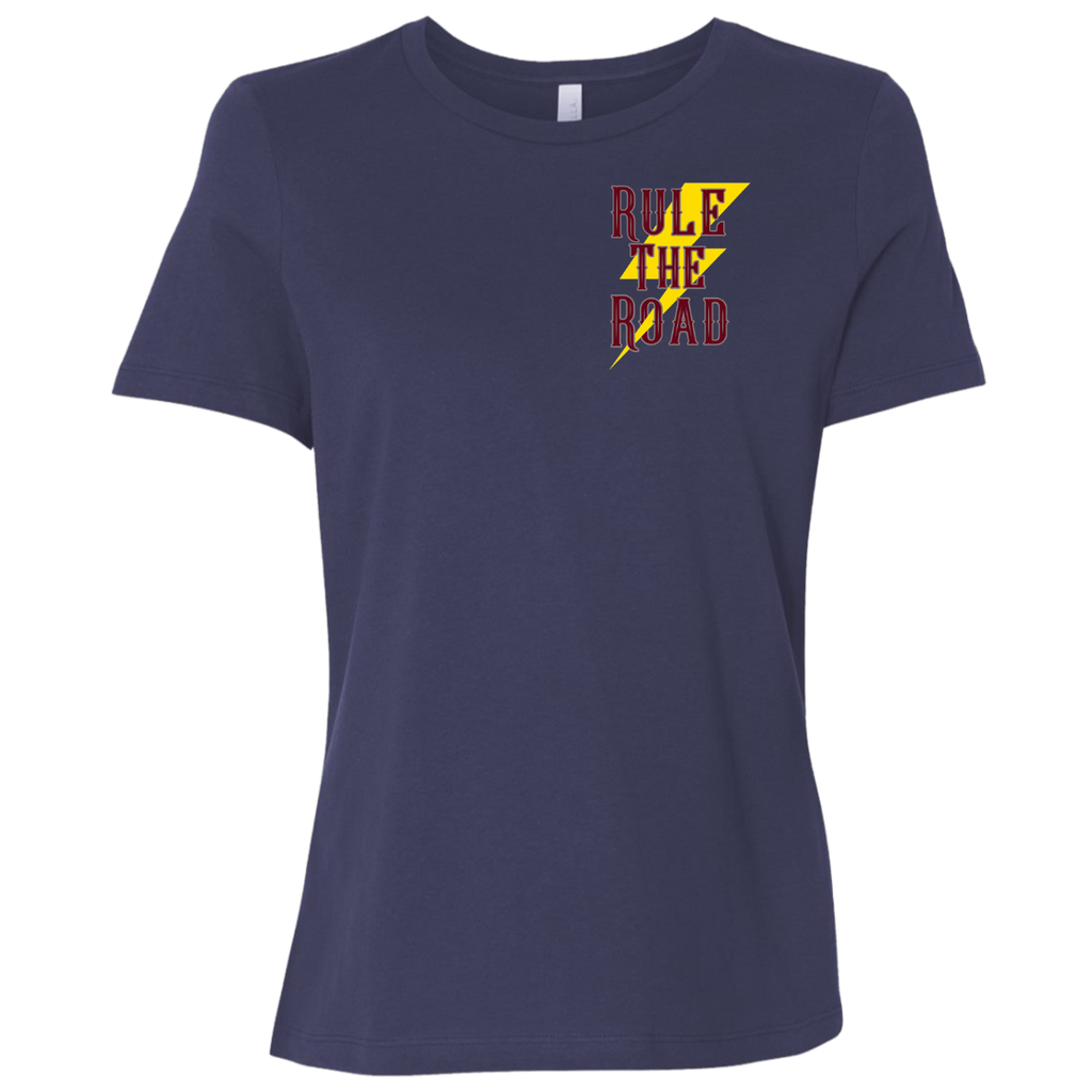 Lean Into It Ladies Relaxed Fit Short Sleeve T-Shirt