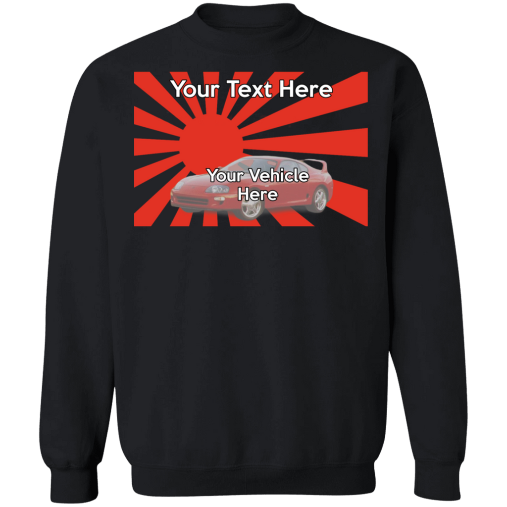 JDM Personalized Crewneck Sweatshirt