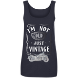 I'm Not Old, Just Vintage Personalized Women's Scoopneck Tank Top
