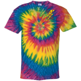 Support Your Local Motorcycle Builder Tie Dye Short Sleeve T-Shirt