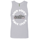 Loud Pipes Save Lives Personalized Men's Tank Top