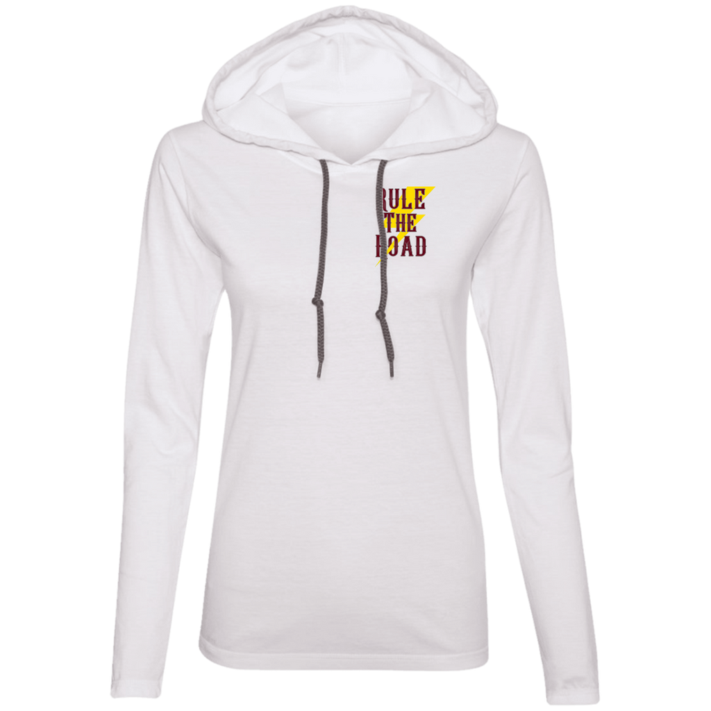 Lean Into It Ladies Long Sleeve T-Shirt Hoodie