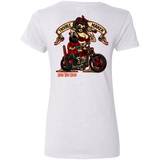Troublemaker Motorcycle Ladies V-Neck T-Shirt