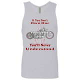 If You Don't Own One, You'll Never Understand Personalized Men's Tank Top