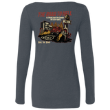 The Road To Hell Hot Rod Ladies Long Sleeve Scoop Neck T-Shirt