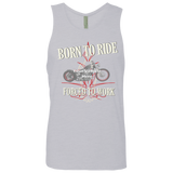 Born To Ride, Forced To Work Personalized Men's Tank Top