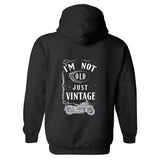 I'm Not Old, Just Vintage Personalized Hoodie