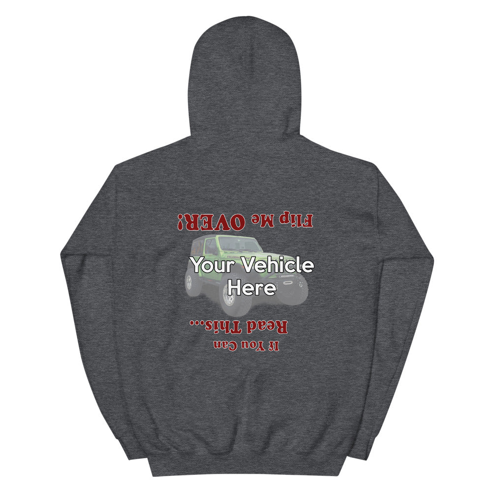 Flip Me Over Personalized Hoodie