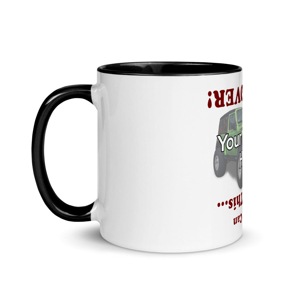 Flip Me Over Personalized Mug