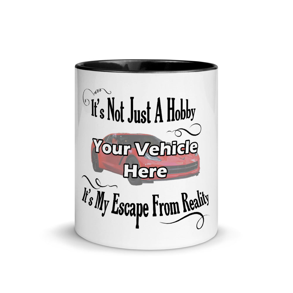 It's Not Just A Hobby It's My Escape From Reality Personalized Mug