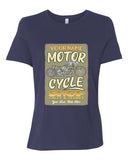 Motorcycle Shop Personalized Women's Short Sleeve T-Shirt