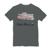 Rule(s) The Road Winged Wheel Personalized Short Sleeve T-Shirt