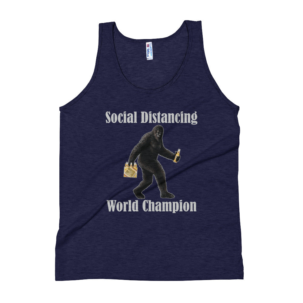 Social Distancing World Champion Women's Tank Top