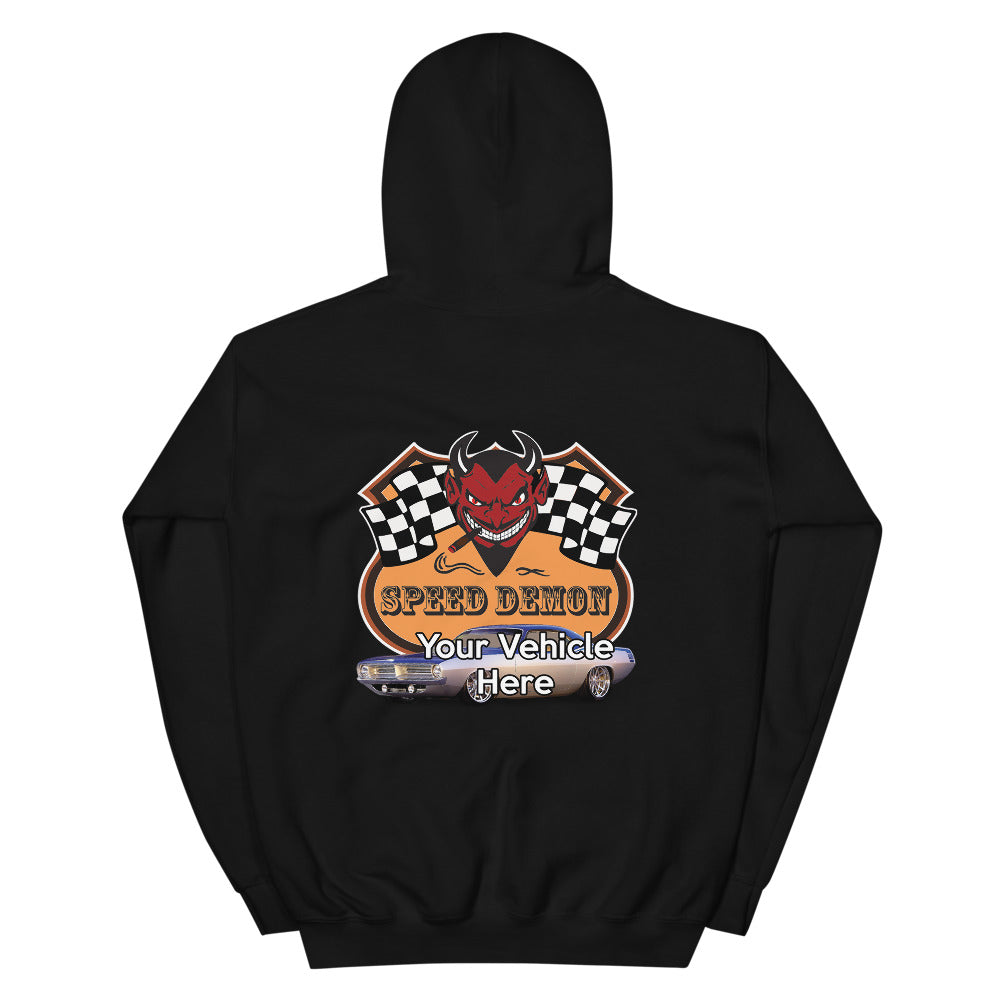 Speed Demon Personalized Hoodie