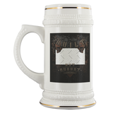 Built Not Bought Custom Personalized Beer Stein