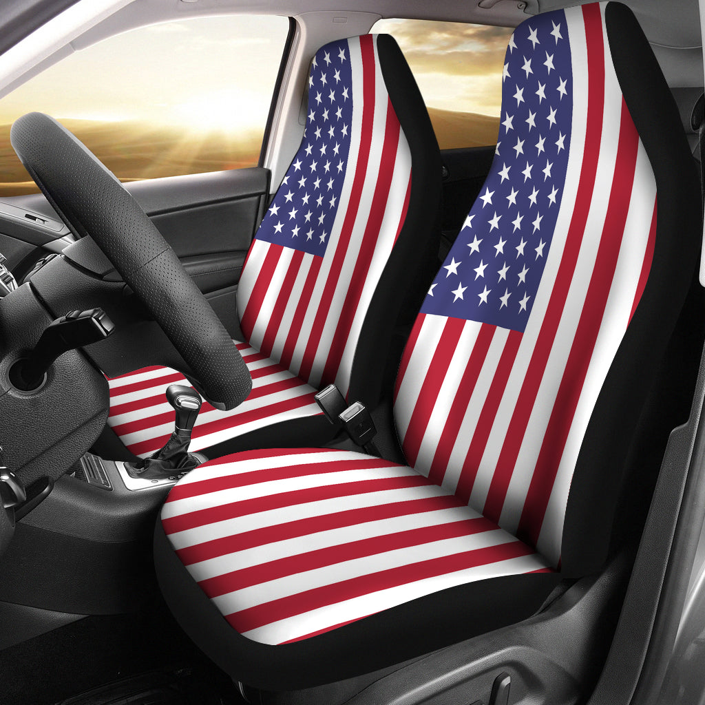 USA Universal Car Seat Covers (Pair)