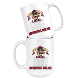 Support Your Local Motorcycle Builder Custom Personalized Mug, 15 oz.