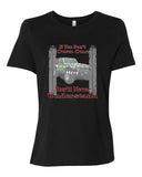 If You Don't Own One, You'll Never Understand - Tire Tracks Personalized Women's Short Sleeve T-Shirt