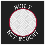Built Not Bought Custom Personalized Canvas Artwork
