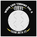 When Life Throws You A Curve Custom Personalized Canvas Artwork
