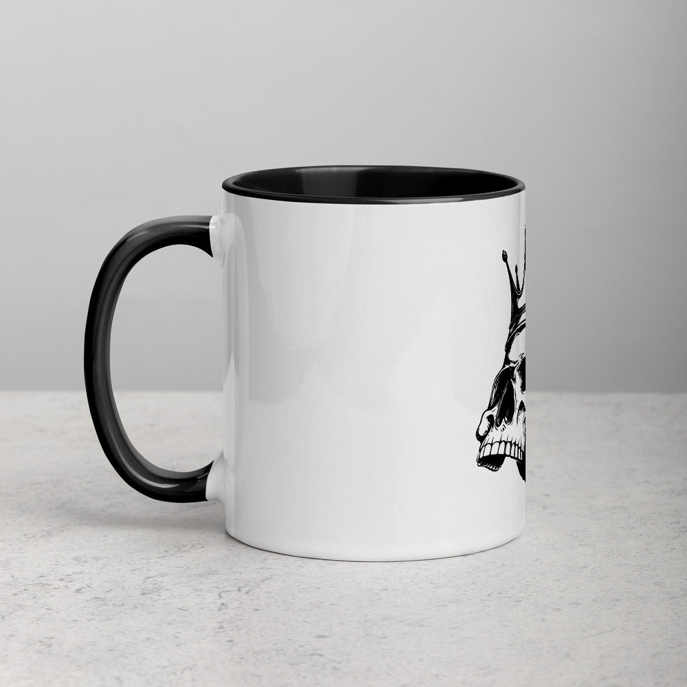 Rule The Road Skull Mug