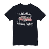 It's Not Just A Hobby, It's My Escape From Reality Personalized Short Sleeve T-Shirt