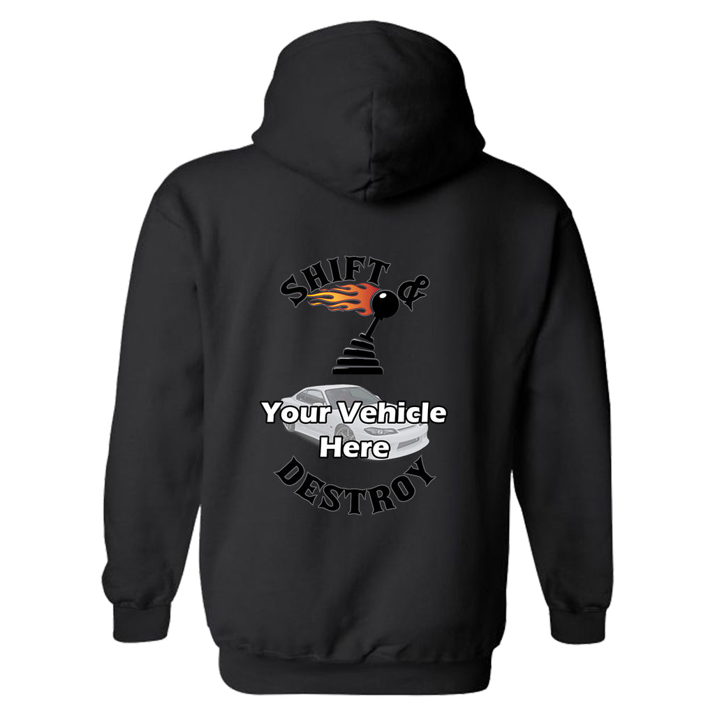 Shift And Destroy Personalized Hoodie