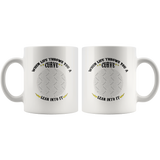 When Life Throws You A Curve Custom Personalized Mug, 11 oz.