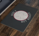 Built Not Bought Custom Personalized Doormat