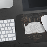 Built Not Bought Custom Personalized Mousepad