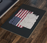 American Flag Custom Personalized Doormat