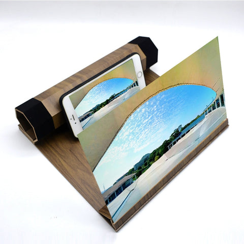 12 Inch Wood Mobile Screen Enhancer